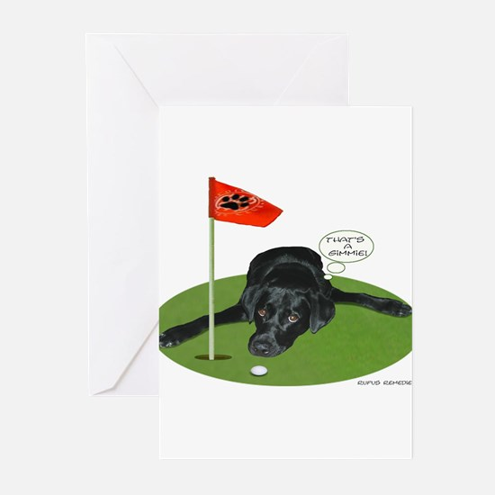 Funny Funny golf Greeting Cards (Pk of 20)