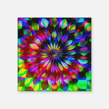 Rainbow Hippie Swirl Sticker