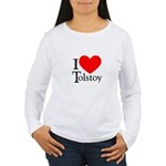 I Love Tolstoy Women's Long Sleeve T-Shirt