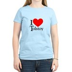I Love Tolstoy Women's Light T-Shirt
