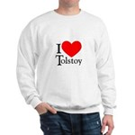 I Love Tolstoy Sweatshirt