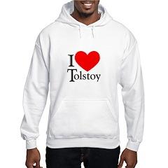 I Love Tolstoy Hoodie