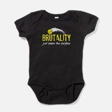 Water Polo Brutality Baby Bodysuit