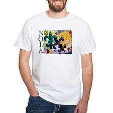 NOLA Mardi Gras Fleur de lis Shirt