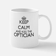 Keep calm and kiss the Optician Mugs