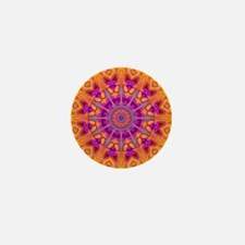 Trippy Hippy | v8 Geometric Mandala Mini Button