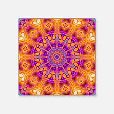 Trippy Hippy   v8 Geometric Mandala Sticker
