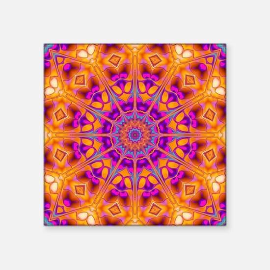 Trippy Hippy | v8 Geometric Mandala Sticker
