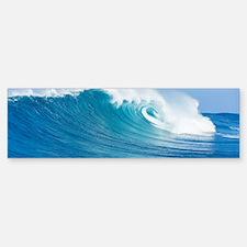 Blue Wave Bumper Bumper Bumper Sticker