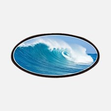 Blue Wave Patches