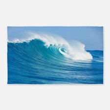 Blue Wave 3'x5' Area Rug