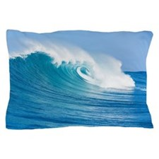 Blue Wave Pillow Case