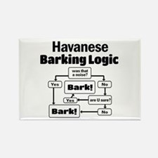 Funny Havanese Rectangle Magnet