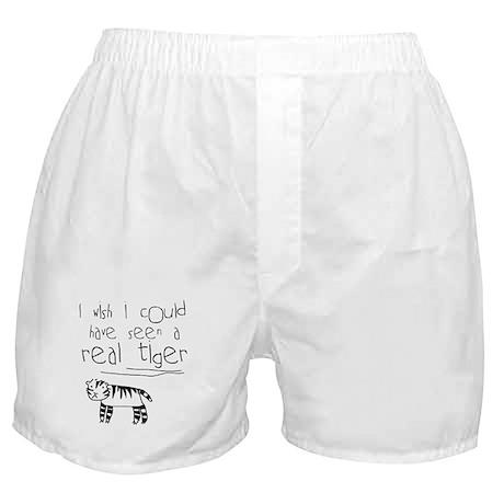 No More Tigers Boxer Shorts