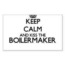 Keep calm and kiss the Boilermaker Decal