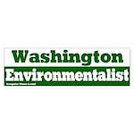 Washington Environmentalist Sticker