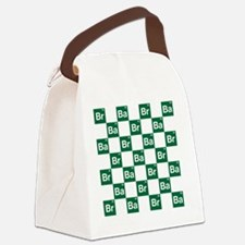 Breaking Bad Logo Pattern Canvas Lunch Bag