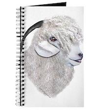 Angora Goat Portrait Painting Journal