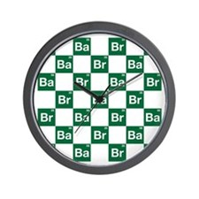 Breaking Bad Logo Pattern Wall Clock