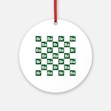 Breaking Bad Logo Pattern Ornament (Round)