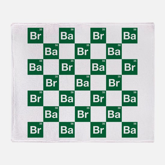 Breaking Bad Logo Pattern Throw Blanket
