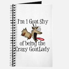 Crazy Goat Lady Journal