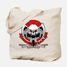 Zombies fear me r Tote Bag