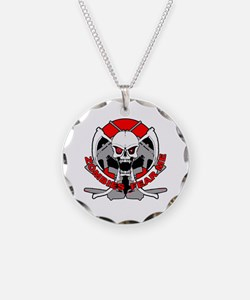 Zombies fear me r Necklace