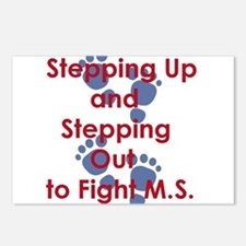 Stepping Up and Stepping Postcards (Package of 8)