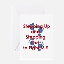 Stepping Up and Stepping Out.JPG Greeting Cards