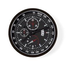 Military Tactical Black Wall Clock