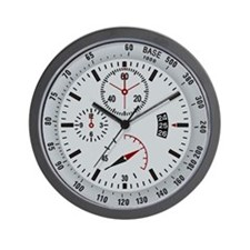 Military Tactical Grey Wall Clock