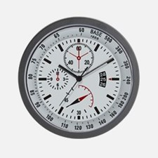 Military Tactical Grey Wall Clock