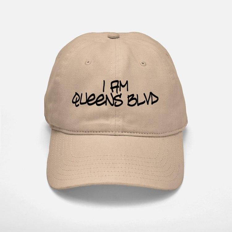 I am Queens Blvd 4 - Blk Baseball Baseball Cap