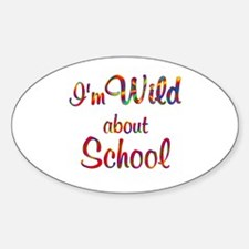 Wild About School Decal