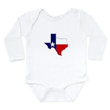 Great Texas Long Sleeve Infant Bodysuit