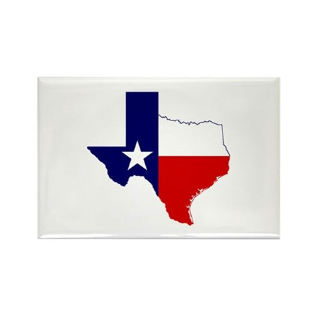 Great Texas Rectangle Magnet