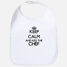 Keep calm and kiss the Chef Bib