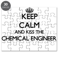 Keep calm and kiss the Chemical Engineer Puzzle