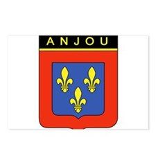Groupe ANJOU.psd.png Postcards (Package of 8)