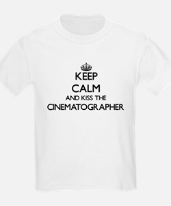 Keep calm and kiss the Cinematographer T-Shirt