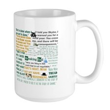 Walter White Quotes Mug