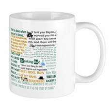 Walter White Quotes Small Mug