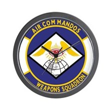 14th Weapons Squadron.psd.png Wall Clock