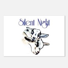Baby Pygmy Goats Silent N Postcards (Package of 8)