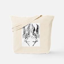 demon angel tee Tote Bag