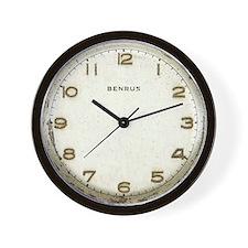 Vintage Dieselpunk Wall Clock