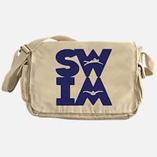 SWIM BLOCK Messenger Bag