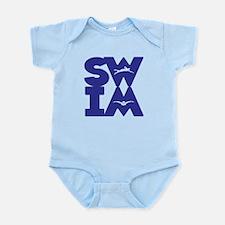 SWIM BLOCK Infant Bodysuit