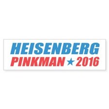 Heisenberg Pinkman 2016 Bumper Bumper Stickers